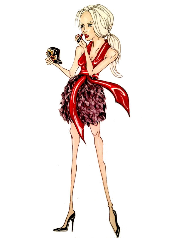 fashion-illustration-by-jamie-sofia-sparklefromwords-HIV-AIDS-for-charity