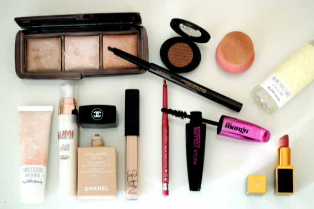 My_Little_Box_UK_Sparkle_and_Spackle_Everyday_Makeup_Glowing_Skin_Chanel_Vitalumiere_Aqua_Tom_Ford_Addison
